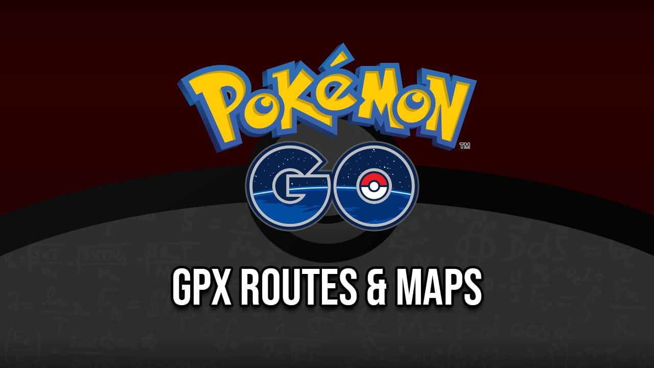 GPX Routes - Pokemon GO! - ARSpoofing
