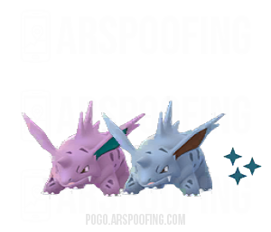 Shiny Nidorino Comparison