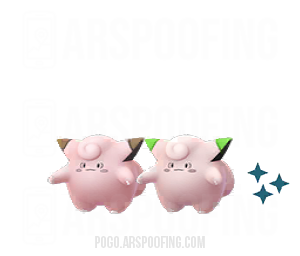 Shiny Clefairy Comparison