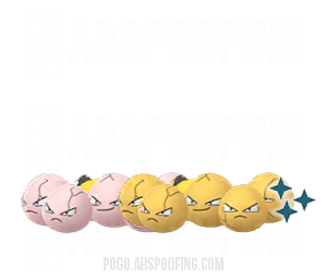Shiny Exeggcute Comparison