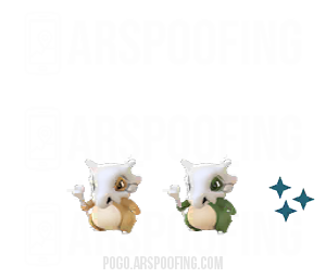 Shiny Cubone Comparison