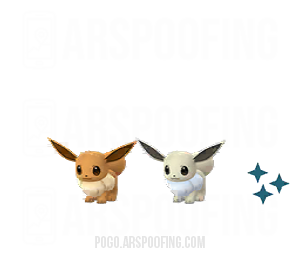 Shiny Eevee Comparison