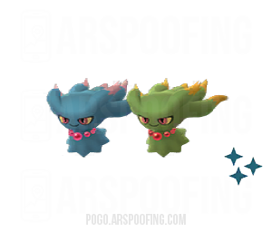 Shiny Misdreavus Comparison