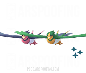 Shiny Swellow Comparison