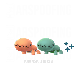 Shiny Trapinch Comparison