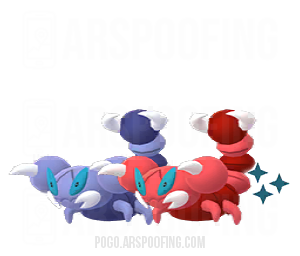 Shiny Skorupi Comparison