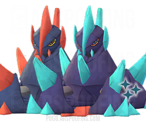 Shiny Gigalith Comparison