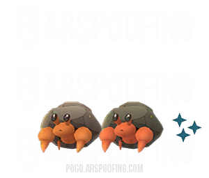 Shiny Dwebble Comparison